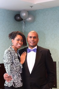 The Delores Foundation  - Medina Isiah  and husband  Minister Raymond Isiah