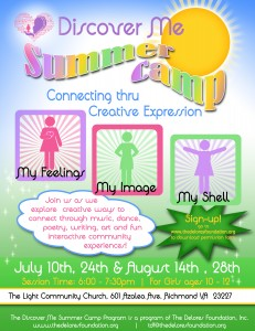 Discover Me Summer Camp - The Delores Foundation